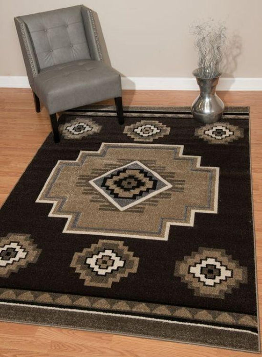 Tempe Cocoa Rug | The Cabin Shack