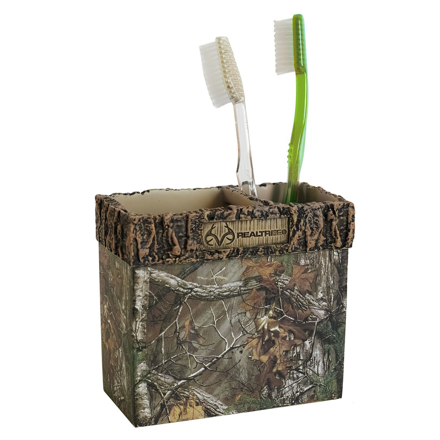 Cabin Toothbrush Holder | Realtree Camo | The Cabin Shack
