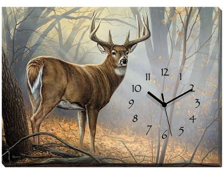 Whitetail Buck Clock | The Cabin Shack