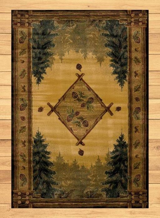 Wilderness Treasure Rug | The Cabin Shack