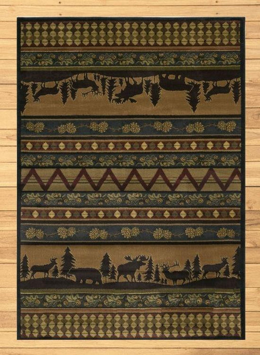 Wildlife Refuge Rug | The Cabin Shack