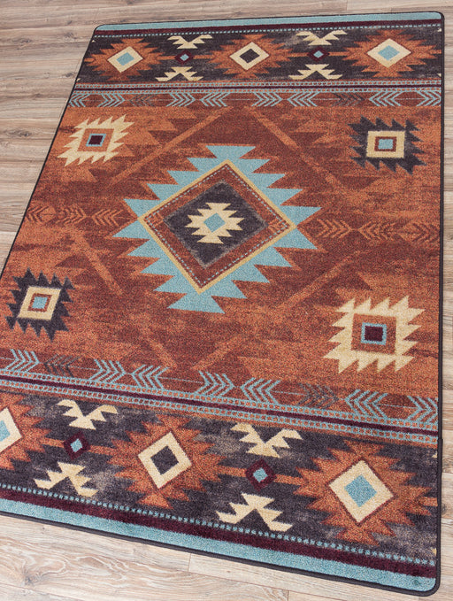 Native Arrow Black Rug | The Cabin Shack