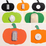 HALLOWEEN SHAPES includes Ghost, Pumpkin, Bat & Witches Hat to suit Dexcom