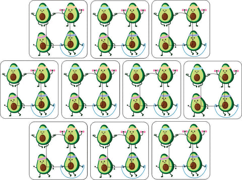 OmniPod Avocado Design Patches 10 pack