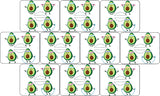 Medtronic Avocados Design Patches 10 pack