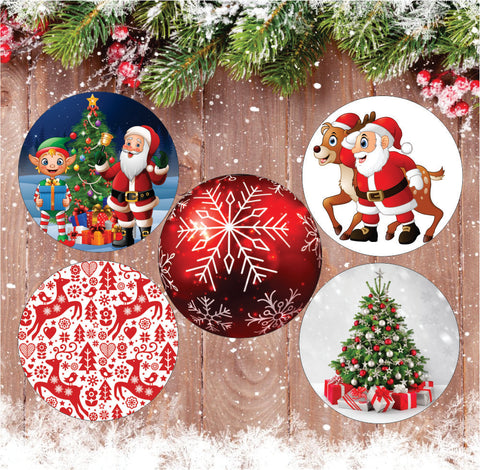 Christmas Patches - Suits all devices! 5 Pack