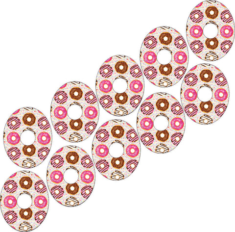 Freestyle Libre Donut Design Patches 10 pack
