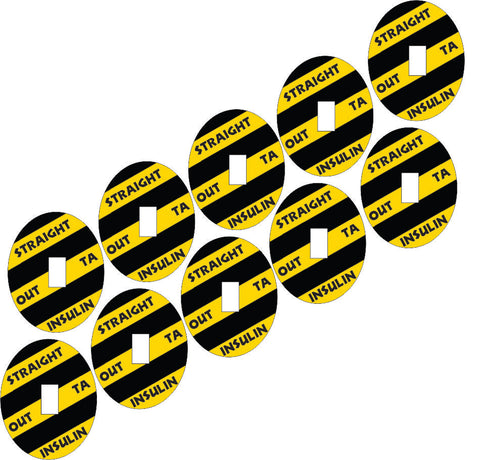 Dexcom Outta Insulin Design Patches 10 pack