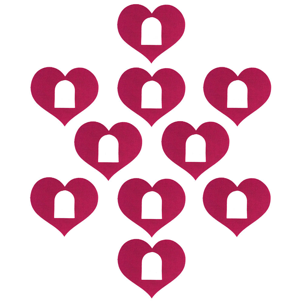Omnipod Heart Shaped Patch x 10