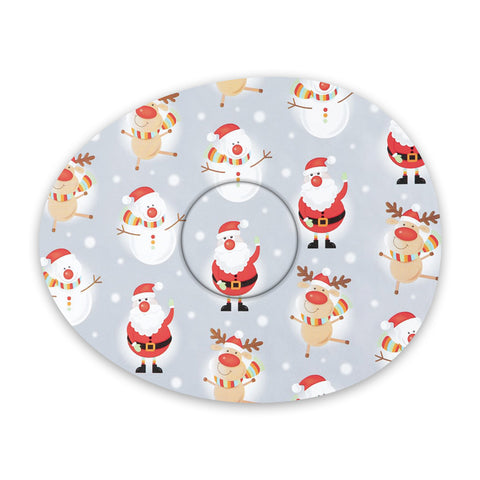 Christmas Characters decorative adhesive patches - all devices.