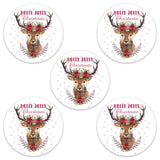 Christmas deer decorative adhesive patches - all devices.