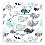 Omni-Pod Whales Design Patches 10 pack