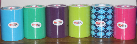 "Rocktape available by the metre, 10cm/4"" width."