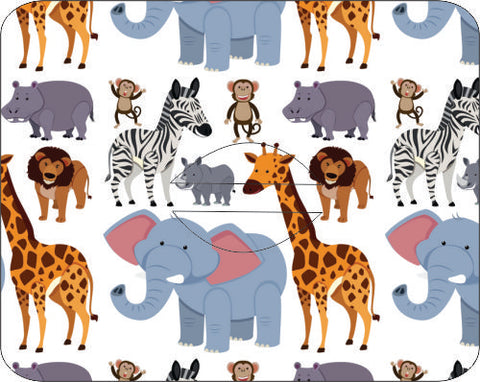 Medtronic Safari Animals Design Patches 10 pack