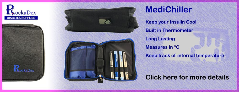 Medical Chill bag with built in thermometer