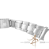 Rolex 19mm Thin Oyster 7835 Steel Metal Bracelet End link 357 (Year 1970)