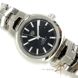 Tag Heuer Link Calibre 5 Ref WBC2110 Automatic Black Dial 41mm Steel Watch