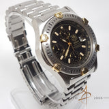 Tag Heuer Super 2000 Professional Ref 165.306/1 Chronograph Automatic Gold Steel
