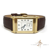 Jaeger LeCoultre 18K Reverso Duoface Day Night Ref 270154