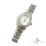 Rolex Ladies Datejust Ref 6917 Roman Dial Automatic Vintage Watch (1976)