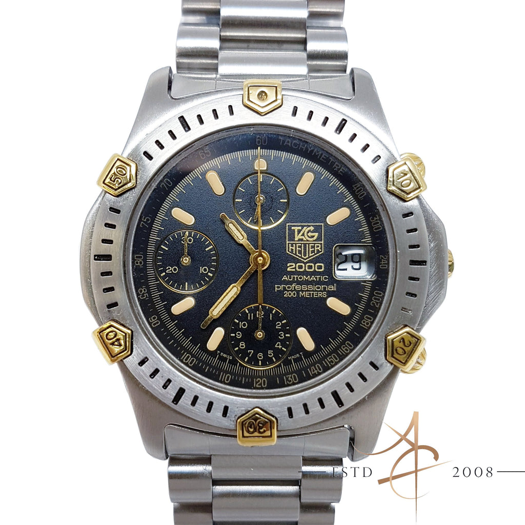 325b07c64a5 Tag Heuer Super 2000 Professional Ref 165.306/1 Chronograph Automatic –  Asia Timepiece Centre