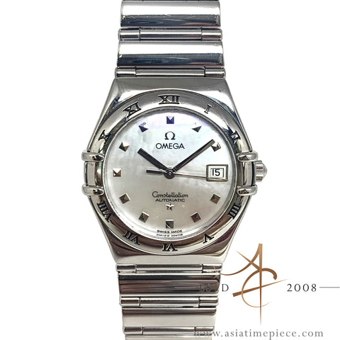 Omega Constellation My Choice Mother of Pearl 15917100 Automatic Ladies Watch