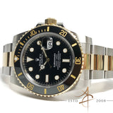 Rolex Submariner Date 116613LN Ceramic Black Date 18k Gold Steel (2017)
