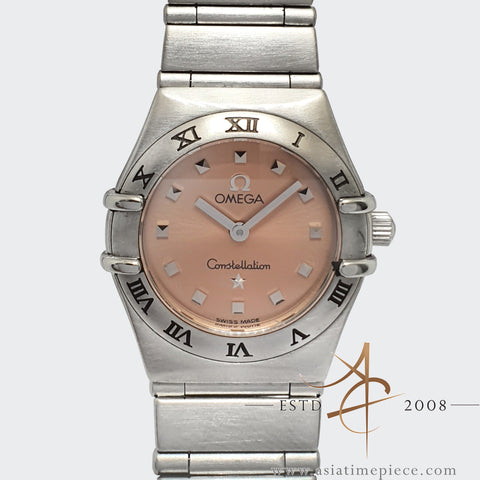 Omega Constellation Salmon Pink Dial My Choice Quartz Mini 15616100