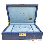 [Rare] Rolex Ladies Datejust President 69138 Blue Watch Jewelry Jumbo Box Case 51.00.01