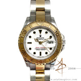 Rolex Yachtmaster 69623 Ladies 18K Gold/Steel Watch (Year 1996)