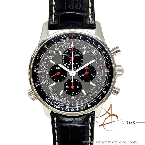 [Rare] Sinn Navigation 903 H4 Moonphase Chronograph Lemania (2008)
