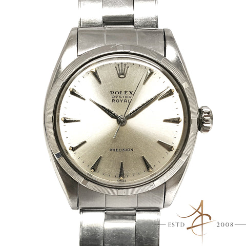 [Rare] Rolex Oyster Royal Precision Ref 6427 Winding Vintage Watch (Year 1951)