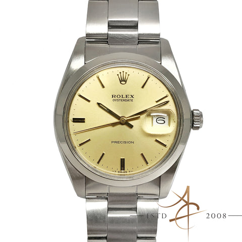 Rolex Oysterdate Precision Ref 6694 Vintage Watch (Year 1984)