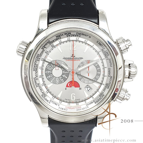 Jaeger Lecoultre JLC Master Compressor Extreme World Time Platinum Singapore Limited Edition 28 Pieces