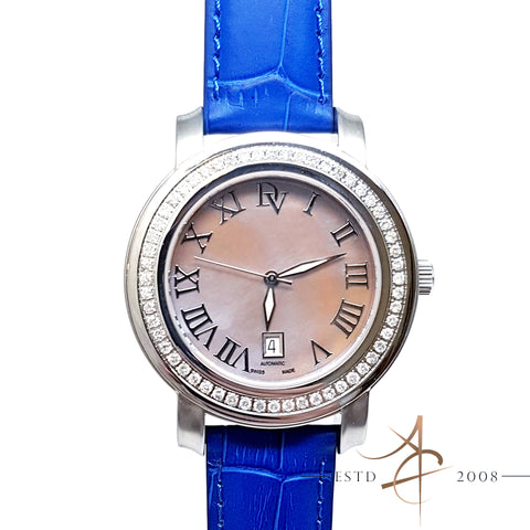 (SOLD) Doris Vinci Diamond Automatic Swiss Made Watch