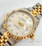 (Sold) Rolex Oyster Perpetual Datejust Watch Ref 16233 (Year 2000)