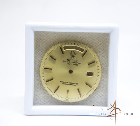 Genuine Vintage Rolex Day-Date President Champagne Dial 1802 1803 1804 1807