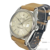 Rolex Datejust 16014 Silver Dial Vintage Watch (Year 1980)