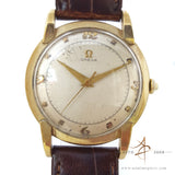 Omega 14k Gold Winding Vintage Watch