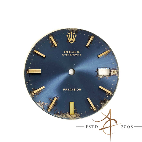 Sunburst Blue Dial For Rolex Oyster Precision Ref 6694