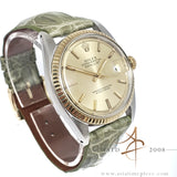 Rolex Datejust 1601 Champagne Dial Vintage Watch (1973)