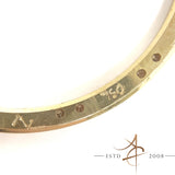 Rolex Custom Diamond 18K Solid Gold Bezel For Ref 1600 / 1803