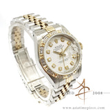 Rolex Lady Datejust 69173 Diamond Dial Vintage Watch (1987)