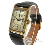 Para Chronometre 14K Solid Gold Winding Vintage Watch (Year 1946)