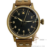 [Full Set] Laco Saarbrücken Bronze LC 862085 Aviation Pilot 45mm Watch