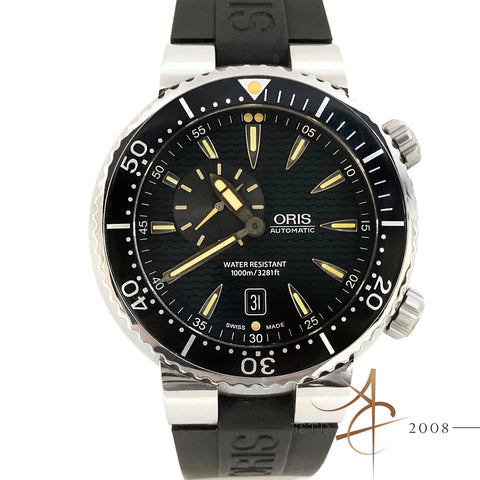 Oris Divers Small Second Watch Ref 64376098454RS