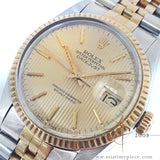 Rolex Datejust 16013 Tapestry Champagne Dial Vintage Watch (1986)