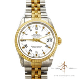Rolex Midsize Datejust 68273 Two-Tone Steel Vintage Watch (Year 1984)