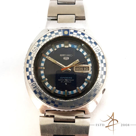 Seiko Rally Diver's Automatic Watch Ref 6119-8300 (Year 1997)