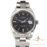 Rolex Date Ref 1500 Slate Grey Dial Vintage Watch (Year 1974)